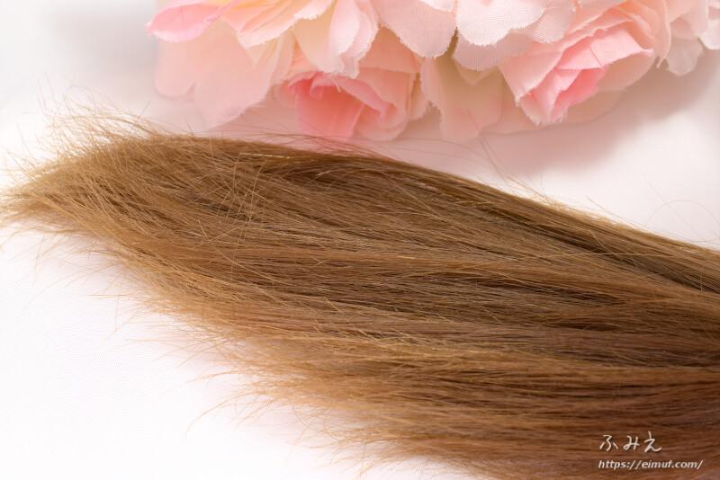 ナカノザダイレクト シズクコラーゲン を使う前の髪の毛