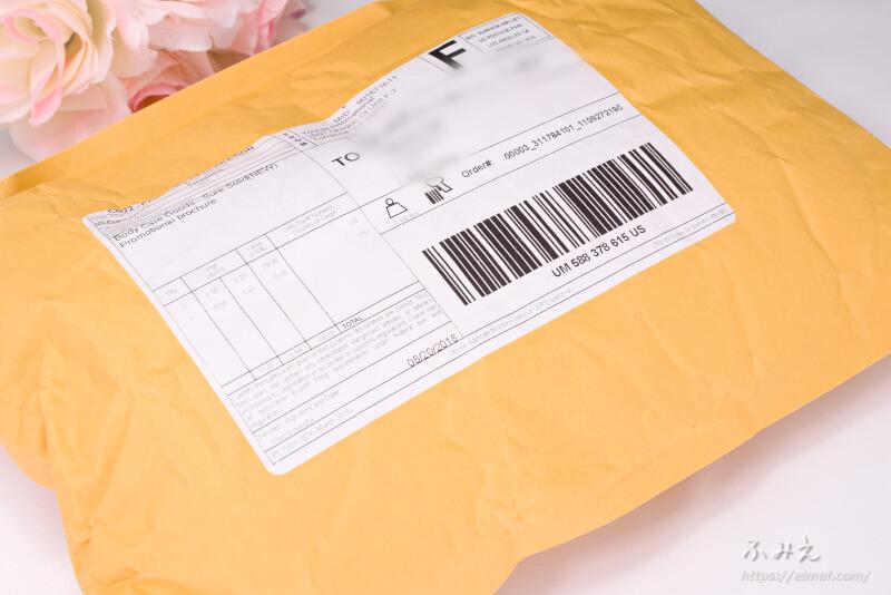 YOUUP(ユーアップ) パワーデオドラント(NEW) が届いた封筒