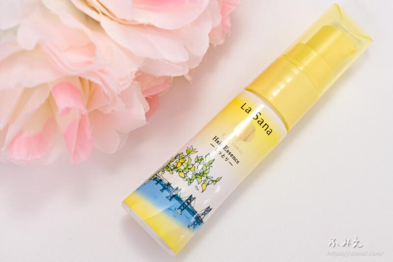 ラサーナ 海藻 ヘアエッセンス 6種の香りコレクション 瀬戸内レモンのボトル