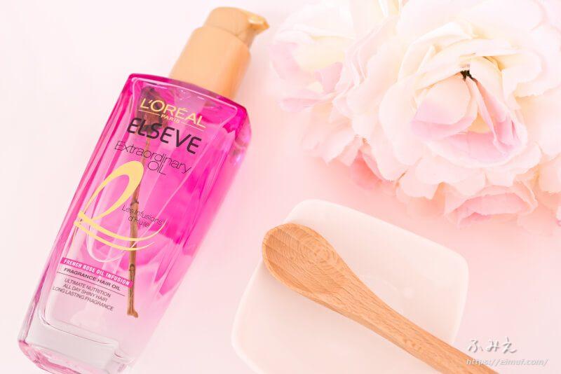 ロレアルパリから本物の花が入った香水みたいなヘアオイル「ローズインフュージョン」が登場!柔らかくて上品な香りが素敵♡