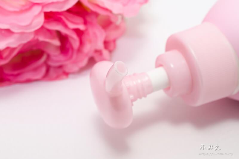 ビオレu 角層まで浸透する うるおいミルク(やさしいフローラルの香り) ポンプ口