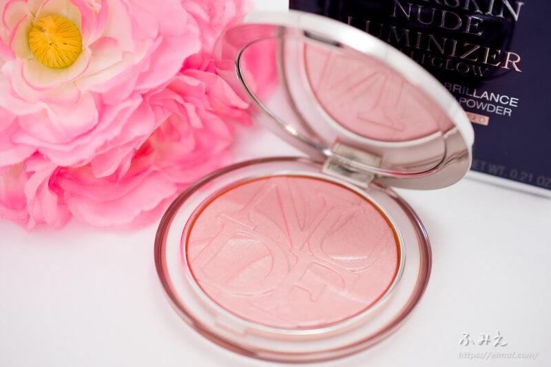ディオールからキラキラ輝くミネラルヌードルミナイザーパウダー〈ロリグロウ〉が登場!#08(ピンク デライト) で明るい透明美肌!