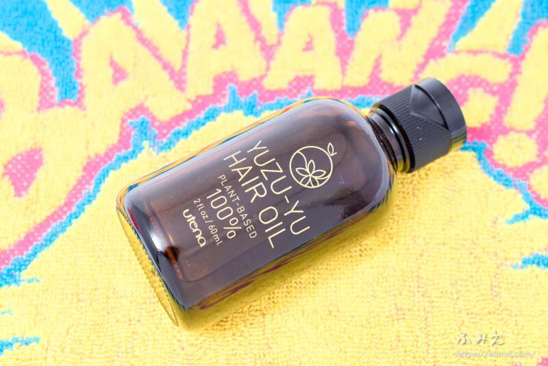 ウテナ ゆず油 無添加ヘアオイル