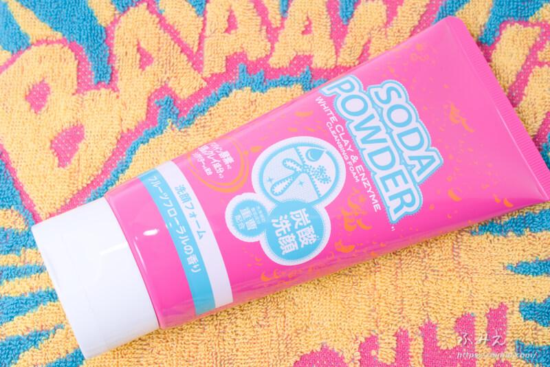 イヴ ソーダパウダー 洗顔フォーム フルーツフローラルの香り