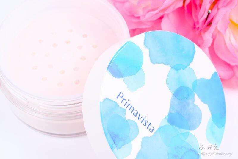 プリマヴィスタのひんやり実感おしろいは専用ブラシで簡単仕上げ!ひんやりみずみずしくて涼やかな仕上がり!