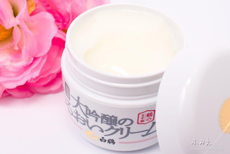 日本酒メーカーのオールインワンはホントにスゴイ! 鶴の玉手箱の薬用 大吟醸のうるおいクリームはこれ1つでたっぷりうるおう!