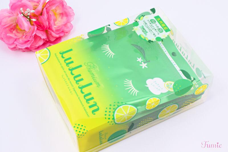 大分のプレミアムルルルン(カボスの香り) 7枚入り×5袋 パッケージ正面