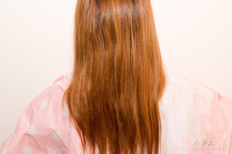 レブロン レブロニッシモ カラーリムーバー 施術後の私の髪