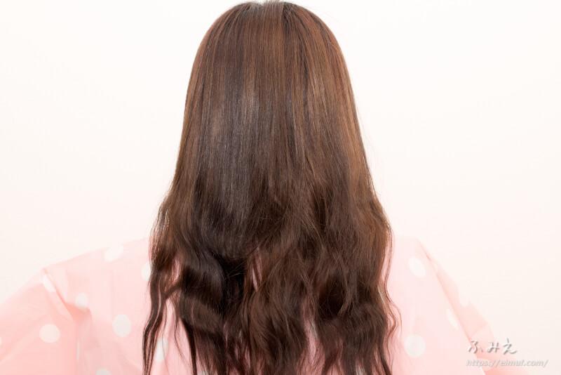 レブロン レブロニッシモ カラーリムーバー を塗る前の私の髪
