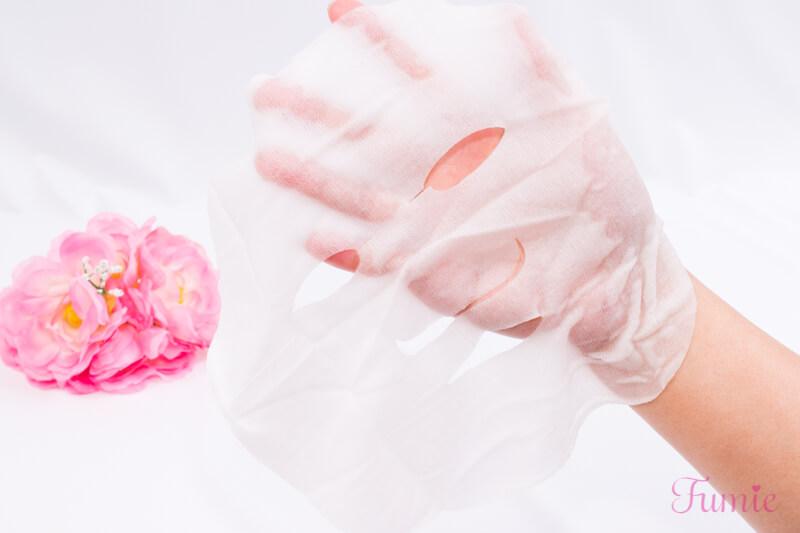 2019限定プレミアムルルルン(フレッシュシトラスの香り) を手のひらに広げてみた