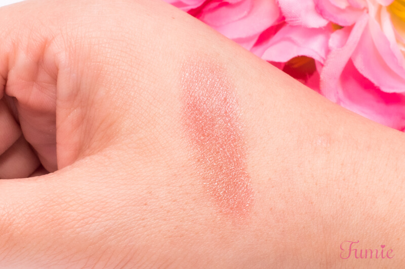 ロート リップザカラー #ピンクコーラル を手の甲に塗ってみた