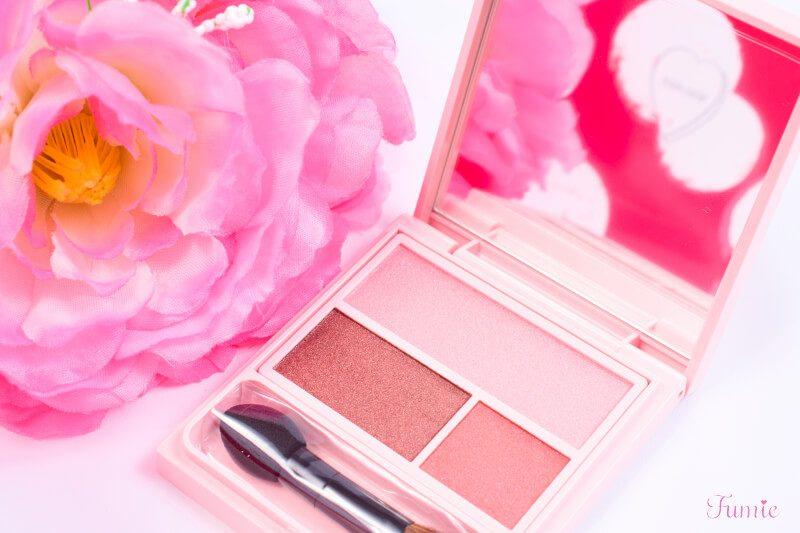 イガリメイク!フーミーのアイシャドウパレット #bilieve in pink(ピンクピンク)で奥行きのあるお色気Eye!