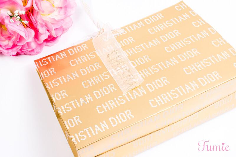 ディオール ディオリフィック グリッタートップコート #001(ハッピー2020) をオンラインブティックで買った包装